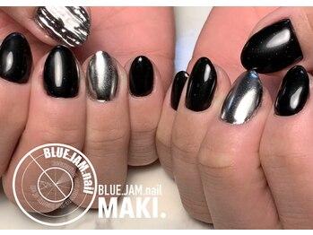 ブルージャムネイル(BLUE.JAM.nail)/MIDDLEコース☆design by MAKI