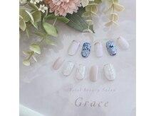 アイラッシュアンドネイルサロン グレイス(Grace)の雰囲気(シーズン毎に増える、定額デザインをお楽しみいただけます☆)