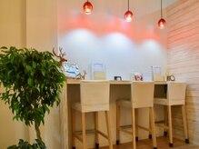 まつげ革命 福島パセオ通り店の雰囲気(店内は落ち着いた雰囲気☆..:*・)