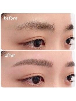 アイラッシュサロン ブラン 広島アルパーク店(Eyelash Salon Blanc)/美眉スタイリング