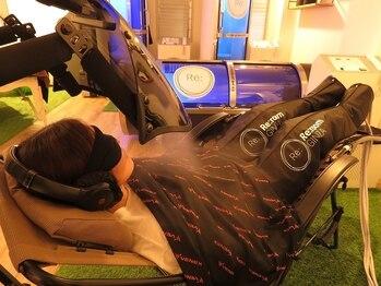 リルーム(Re:room)の写真/【心/脳/身体の疲労に☆】高気圧酸素カプセル×短時間のパワーナップ(積極的仮眠)で究極のリカバリーを♪