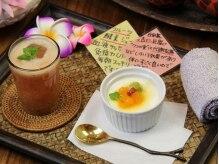 タイ古式マッサージアンドカフェ ワイルーム 静岡(wairoom)の雰囲気(施術後のデザート&ドリンクでほっこり♪)