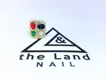 ザ ランド ネイル(the Land Nail)/夏の宝石 △浅井