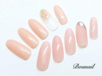 ボネール(nail & eyelash Bounail)/定額コース6980円