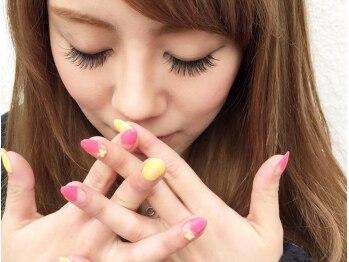 アイラッシュ ネイル アングゥ(eyelash nail ungu)