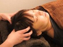 全メニュードライヘッドスパ付☆頭痛、眼精疲労、首コリに効果◎