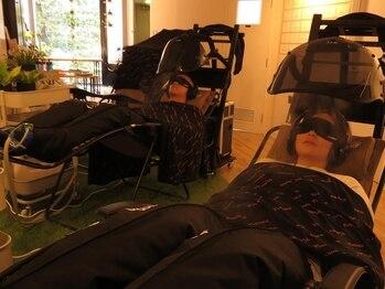 リルーム(Re:room)の写真/【究極の癒しを体感☆】酸素水素カプセル×パワーナップ(積極的仮眠)で今までにない全身リカバリー体験を♪