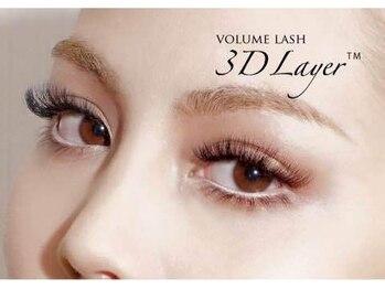 ボネール(nail & eyelash Bounail)/3Dラッシュ 160束