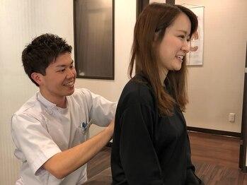 リフレーヌ 名古屋栄駅前店/3.歪みのチェック