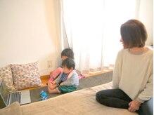 整体院 空と海ママ(mama*)の雰囲気(個室でお子様連れでも安心◎お子様と一緒に産後のケアに♪)