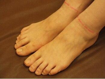 リリアル(LiReal)/施術:両足の指、甲
