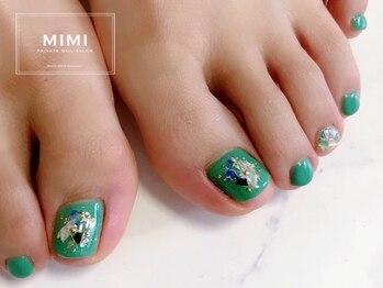 ミミ(MIMI)/フットネイル シェル