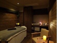 テトテ(TE to TE Natural Beauty & Relaxation)の雰囲気(施術中は間接照明のみ。心安らぐひと時をお過ごしできます。)