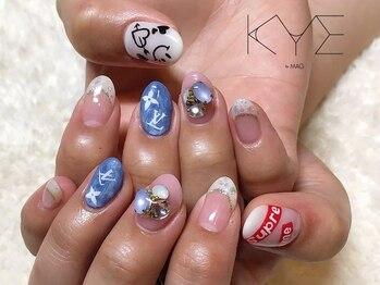 キーバイマグ(KYE by Mag)/ロゴネイル☆