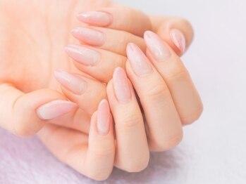 ネイルドゥマルシェ(Nail du Marche)の写真/最高品質の技術でケア&長さ出し☆ネイルケア&フレンチスカルプチュアで自信が持てる理想の美爪へ♪