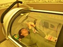 リラクゼーションサロン ピュールボーテ 千葉店の雰囲気(酸素カプセルでのぐっすり仮眠コースもご用意♪)