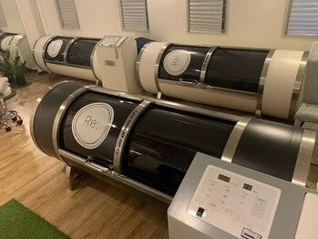リルーム(Re:room)の写真/【未体験の疲労回復を☆】酸素カプセルの高気圧×水素ガスの力で全身リカバリー!まずは1度お試し下さい♪
