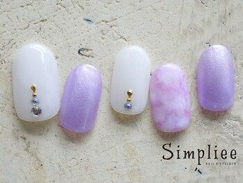 シンプリーネイル 表参道店(Simpliee Nail)/定額ネイル初回¥5990