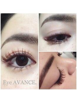 ネイルアンドアイアヴァンス あべのルシアス店(Nail&Eye AVANCE.)/ブラウンカラーラッシュ