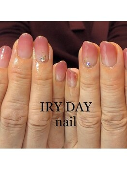 アイリーデイ(IRY DAY)/グラデワンポイントネイル