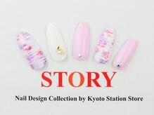プライベートネイルサロンストーリー 京都駅前店(STORY)/パステル