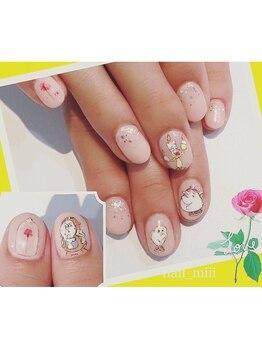 nail miii & eyelush【ネイルミーアンドアイラッシュ】(hair+resort valentine)_デザイン_07