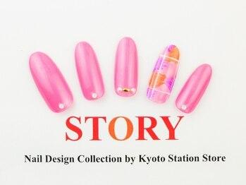 プライベートネイルサロンストーリー 京都駅前店(STORY)/派手好きさんに