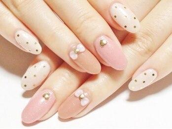 ネイルコレクション ピンク(Nail Collection Pink)の写真/【ジェル★定額¥5990コース】色変更OK!他デザイン多数♪モテ可愛~華やか迄お任せできる信頼のサロン