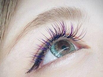 フラワーズネイルアンドアイラッシュ(FLOWER'S nail&Eyelash)の写真/【人気カラー全15色】プラスαの印象付けに◇長さ&カール自由自在☆カラーmixもOK♪[美容液コーティング付]