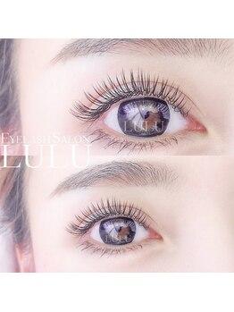 アイラッシュサロン ルル(Eyelash Salon LULU)/フラットラッシュも人気