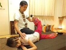 タイ古式 レイジー(Lazy)の雰囲気(立ち仕事、デスクワークなどの脚のむくみはお任せください。)