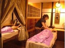 タイリラクゼーションスペース プラスセフィーレ(Thai Relaxation Space +CEFLE)/【ペアや夫婦】で楽しむcefle