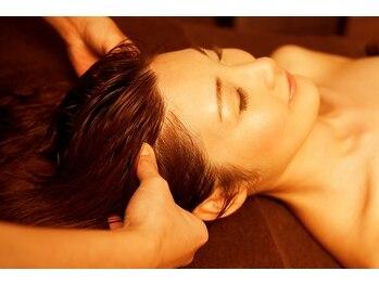 ルッソ 加古川店(LUSSO)の写真/睡眠不足や眼の疲れ、頭痛でお悩みの方へ!ドライヘッドスパで日頃の疲れを癒します☆