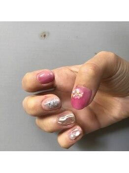 ネイルサロン アトリエエム(nail salon atelier...m)/オーダーA(60分)¥5700
