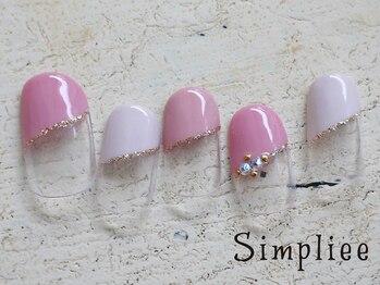 シンプリーネイル 表参道店(Simpliee Nail)/定額ネイル初回¥4990