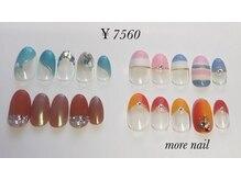 モアネイル(more nail)/8月定額デザイン¥7560