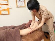 """足のむくみ、だるさ、疲れに""""筋膜リリース""""。人気です◎"""