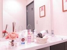 リーフィットネス 静岡店(Le-Fitness)の雰囲気(パウダールーム&更衣室完備!消毒液なども準備しております。)