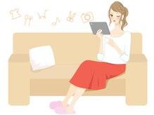 お席のタブレットで旬の動画やアニメが見放題♪退屈しませんよ♪