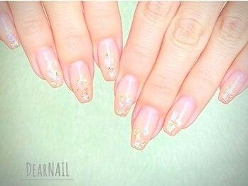 ディアネイル(Dear NAIL)の写真/シンプルだからこそ際立つ技術!!上品で女性らしい洗練されたデザインで清潔感のある指先に…♪