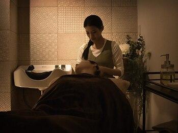 オハナテラス(ohana terrace)の写真/ぐっすり眠りたい★【椿油ヘッドスパ70分¥9900→¥9350】眼精疲労にも◎