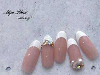 ホームネイルサロン 戸田 ミハ フルーラ(Home Nail Salon Mija Flura)/クラッシー I436C