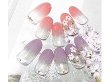 ネイルサロン キャンディネイル(Candy Nail)/フラワーby石塚