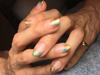 ネイルズ ラ ブリーサ(nails La Brisa)/塗りかけネイル