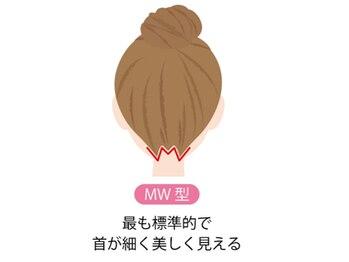 ジェニファーニューヨーク/襟足デザイン【MW型】
