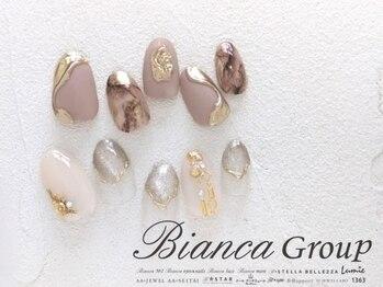 ビアンカ アイズアンドネイルズ 新宿西口店(Bianca eyes&nails)の写真/色変更OK!理想のネイルが見つかる☆【サンプル豊富な定額コース¥4980~】トレンドをMIXしたデザインが人気★