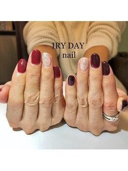 アイリーデイ(IRY DAY)/ワンカラーワンポイントネイル