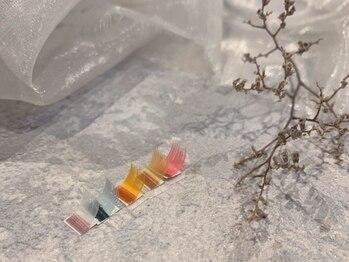 ドレス ネイルアンドアイラッシュ 梅田(Dress)の写真/【西梅田/堂島】最旬カラー取り扱い♪カラーエクステで周りと差がつく印象的な目元へ☆