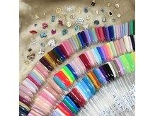 ビスタネイル(BISTA nail)の雰囲気(カラー300種類以上!!パーツ豊富です☆)