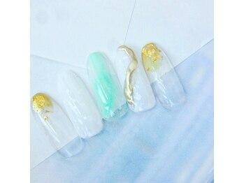 ネイルスペース ヴィタリテ(nail space Vitalite')/7月ハンドジェルB¥6960